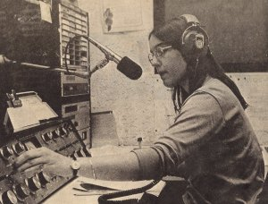 Connie at KCOE-FM
